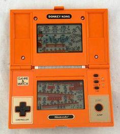 Nintendo Donkey Kong Game & Watch hand-held console (1982)
