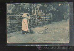 TARJETA POSTAL DE FILIPINA. COUNTRY ROAD. SQUIRES, BINGHAM & CO, MANILA. (Postales - Postales Extranjero - Asia - Filipinas)