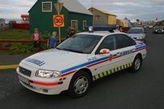 Icelandic police car.