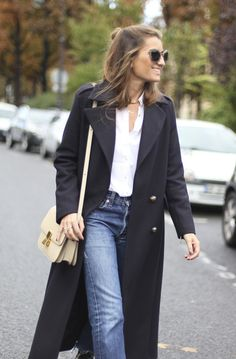 Paris . Maxi Military Coat