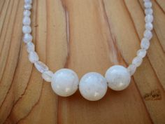 Moonstone Necklace by SmithNJewels on Etsy, $24.99