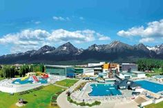 Aquacity Poprad, World´s leading green resort Bratislava, Green Resort, Virtual Travel, Heart Of Europe, Central Europe, Hot Springs, Old Houses, The Good Place, Dolores Park