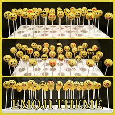 Emoji cake pops  Cake pops cakepops