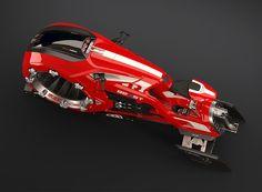 Tecnoneo: El concepto de motocicleta 'The Beast' esta muy cerca de ser un vehículo de Star Wars