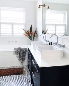 Hurray our plantation shutters finally arrived! The bathroom actually feels complete and the neighbours finally can't see me in the shower… Home, Wood Kitchen, Sweet Home, Bathroom Interior, Decor Design, Interior, Small Space Bathroom, House Interior, Bathroom