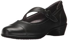 SoftWalk Womens Chatsworth Mary Jane Flat Black 6 M US >>> More info could be found at the image url. (This is an affiliate link) Tap Shoes, Dance Shoes, Volleyball Shoes, Equestrian Boots, Timberlands Women, Tommy Hilfiger Women, Womens Flats, Adidas Women, Character Shoes
