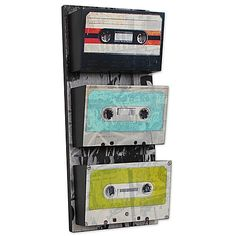 Cassette Tape Pockets Wall Art