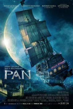 A new trailer released by Warner Bros. Pictures shows off the action in the upcoming Peter Pan film Pan starring Levi Miller, Hugh Jackman, and Rooney 2015 Movies, All Movies, Great Movies, Movies To Watch, Movies Online, Movies And Tv Shows, Pan Movie, Movie Tv, Disney Films