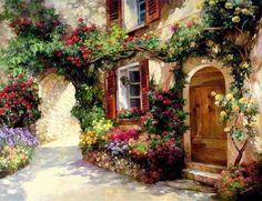 Painting by Paul Guy Gantner #art #painting