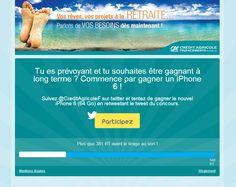 Credit Agricole Financements Suisse - Retweet Contest - #Socialshaker