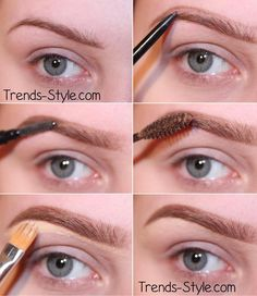 "This is another brow tutorial using anastasia beverly hills brow wiz pencil in ""soft brown"". This will give a more natural look rather than the dipbrow. Tinted brow gel in ""brunette"" and concealer to clean up and shape the brow."