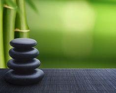 Stones & Bamboo
