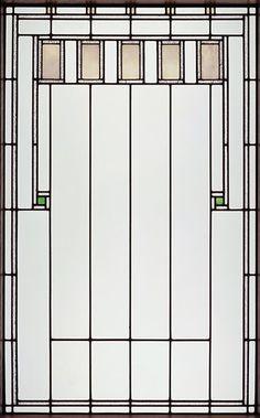 Louis Sullivan and George Grant Elmslie, Henry B. Babson House, Riverside, Illinois, 1907.        art glass window