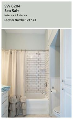 30 Small Bathroom Before /Afters-Fixer Upper With the aid of HGTV's Fixer Upper hosts Chip & Joanna Gaines, this master bath feels much larger due to white wainscoting, white storage cabinets & not a single black tile. Bathroom Renos, Small Bathroom, Bathroom Ideas, Budget Bathroom, Guest Bathroom Colors, Granite Bathroom, Bathroom Paint Colors, Brown Bathroom, Bathroom Spa