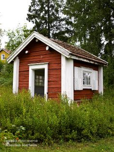 Small cottage in Jacobstad, Sweden.