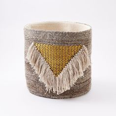 Modern Furniture Home Decor Home Accessories West Elm woven geo baskets | products, storage and storage baskets