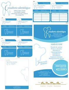 Imagen corporativa consultorio odontologico