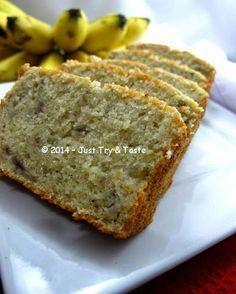 Just Try & Taste: 5 Bahan Saja Untuk Cake Pisang yang Very, Very, Very Delicous! Banana Sponge Cake, Banana Bread Cake, Banana Cakes, Bread Recipes For Kids, Cooking Recipes, Easy Recipes, Marmer Cake, Resep Cake, Steamed Cake