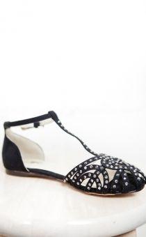 Rosanna Black Flats
