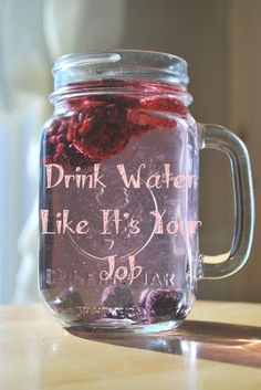 drink water like it's your job - Google Search