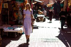 A Million Things to See in Marrakech...THAT DRESS IS PERFECT  ....bureauofjewels/etsy and facebook...XXX