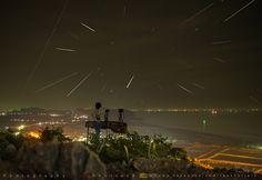 "TeeShutterB > > แชร์เทคนิค และ ชวนถ่ายภาพฝนดาวตก(4 มค. 59) แถม ด้วยภาพ ""เกาะรูปหัวใจ"" ที่ปราณบุรี - Pantip"