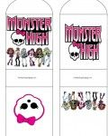 MH C Envelope, Monster High, Invitations - Free Printable Ideas from Family Shoppingbag.com