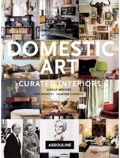Domestic Art: Curated Interiors - eclectic - books - Amazon