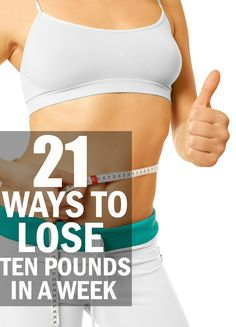 Losing weight seems an uphill task to many, especially when you need to lose weight in a couple of days. And especially when you need to look good for an upcoming occasion or event. For achieving quick weightloss 10 pounds in a week