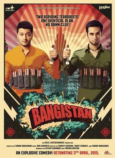 Here is the first look of Pulkit Samrat and Riteish Deshmukh Starrer Bangistan...scheduled to release on 17th April 2015