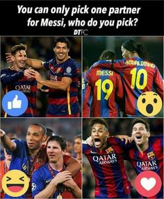 Can you imagine Ronaldinho and Messi together? In their PRIME?!