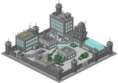 """my 2nd iso-pixelart - since my site-name is """"Stronghold"""" i made this Stronghold for cyanide pixelcity. RESUBMISSION: switching file format from .gif to .png"""