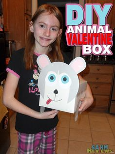 Help your kids create a Valentine Box with some character. Check out the easy tutorial. - SahmReviews.com