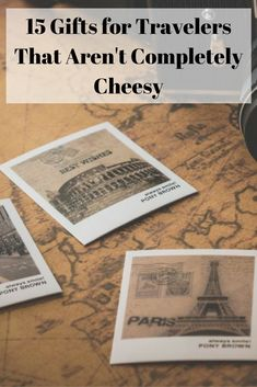 15 gifts for travelers that aren't completely cheesy. You won't find any scratch-off maps, passport holders, travel stub diaries, carry-on cocktail kits, and inspirational wall art here. Instead I've included 15 unique ideas for each type of traveler.