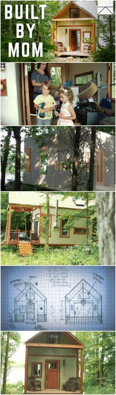 Single-Mom of 3 Children Builds Beautiful Tiny Home on Her Own - Taking on the massive project of building your own can be daunting for anyone but that's exactly what newly-divorced Kelly Lewis did. When she was faced with the task of providing a comfortable home for her three children, she decided to learn how to build and she ended up with the coziest tiny house made almost entirely of recyclable materials.