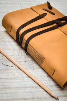 Rustic Leather Journal Handbound Journal Leather от DSBindery