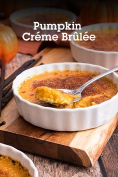 Pumpkin Crème Brulee? Yes please! Or more accurately, Oui s'il vous plaît! Whip up this classic French custard made with pumpkin puree and spices, sweetened with Sugar and Stevia In The Raw®, and topped with Sugar In The Raw® for brûléing. Oui!!