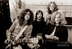 led zeppelin photos | Led Zeppelin 1969 Photograph