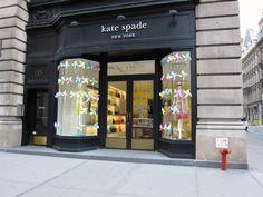kate spade store front #ridecolorfully #katespadeny