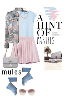 """""""Slip 'Em On: Mules"""" by shortyluv718 ❤ liked on Polyvore featuring Zadig & Voltaire, MANGO, 2NDDAY, Valentino, Robert Clergerie, Mixit, Linda Farrow and mules"""