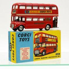 Vintage London Transport Bus Corgi Toys