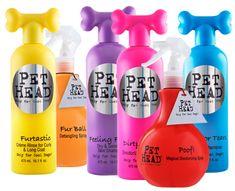 Pet Head...shampoo for pets!!!!! how cute! AND THEY SMELL SOOOOO GOOD!!!