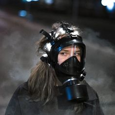 Gas Mask Girl, Respirator Mask, Full Face Mask, Playboy, Outfit Of The Day, Riding Helmets, Cute Girls, Jackets For Women, Gas Masks