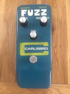 1976 Carlsbro Fuzz - Rare MKIV Sola Sound Tonebender for | Reverb