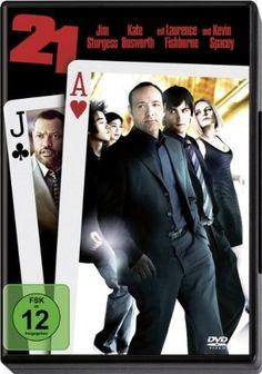21 * IMDb Rating: 6,7 (126.595) * 2008 USA * Darsteller: Jim Sturgess, Kevin Spacey, Kate Bosworth,