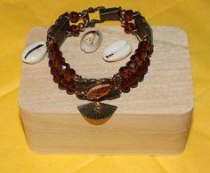 Ochun Oshun  Inspired Modern Bracelet by ModernOrisha on Etsy, $8.00