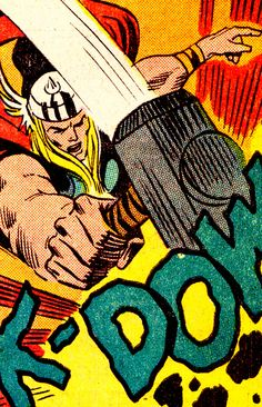 """The Mighty Thor by Don Heck - The Avengers <a class=""""pintag searchlink"""" data-query=""""%23110"""" data-type=""""hashtag"""" href=""""/search/?q=%23110&rs=hashtag"""" rel=""""nofollow"""" title=""""#110 search Pinterest"""">#110</a> (April 1973)"""
