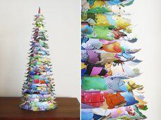 Please Note: DIY: Storybook Paper Tree