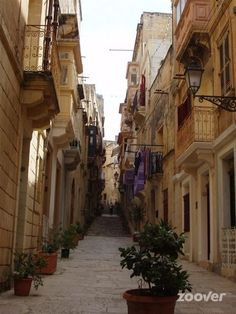 Straatjes in Birgu / Vittoriosa