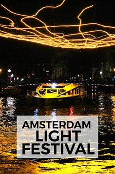 """The Amsterdam Light Festival 2017-18 takes place from November 30, 2017 to January 21, 2018. The theme this year is """"Existential"""". #amsterdam #amsterdamlightfestival"""